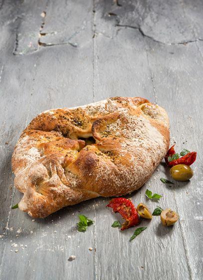 Hartig brood Olijf-Mozzarella